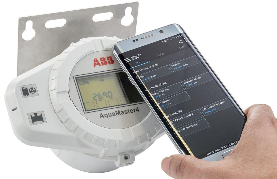 ABA AquaMaster 4 NFC flowmeter