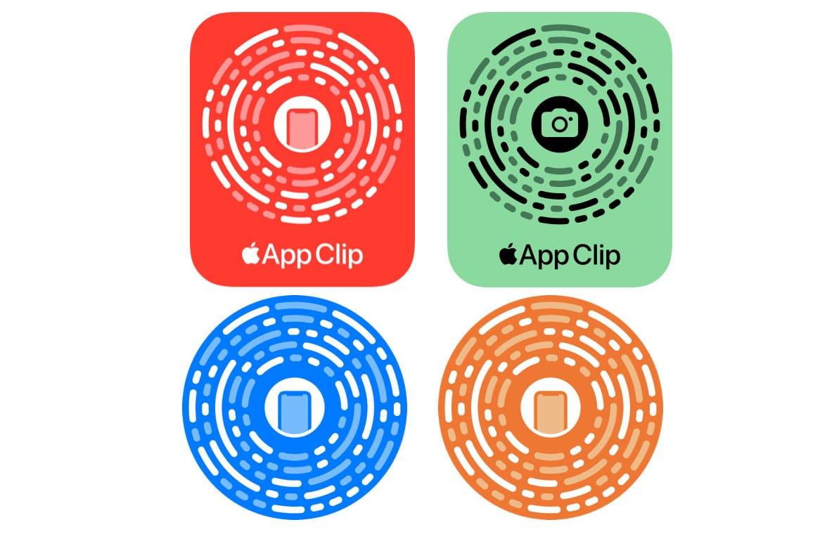 Apple App Clip Codes showing developer best practice