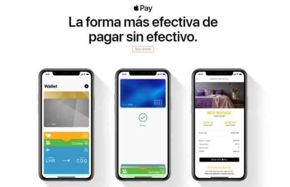 Apple Pay coming soon Mexico web page