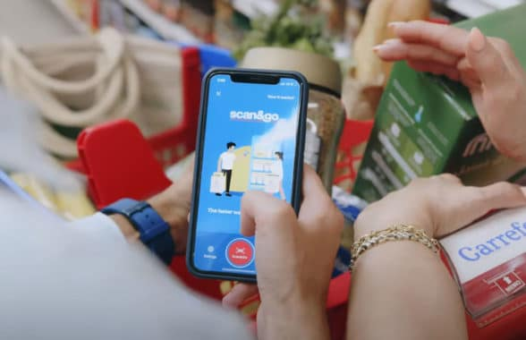 Carrefour Mobile Scan&Go mobile self checkout