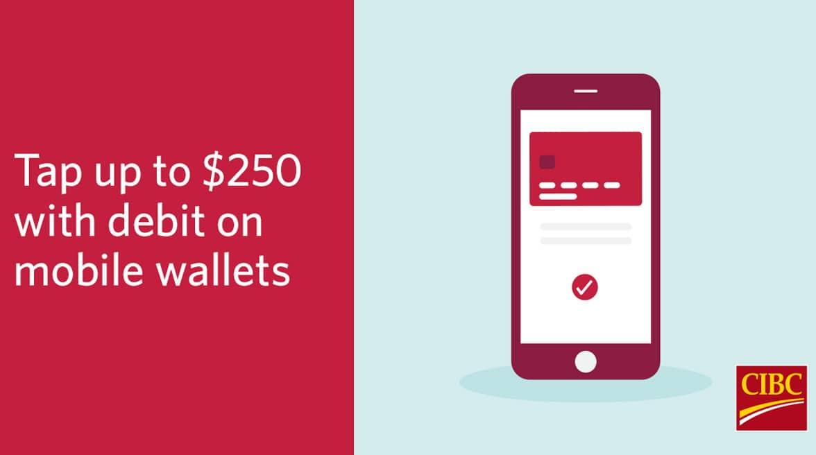 CIBC raises mobile wallet and smartwatch contactless transaction limit