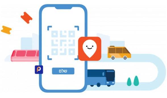 Israel public transport ticketing illustration