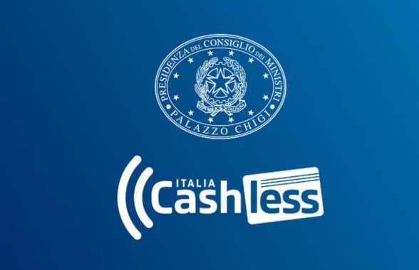Cashless Italia symbol