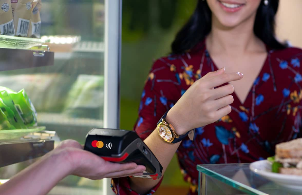 Mastercard and Matchmove  wearables tokenized using Tappy technology