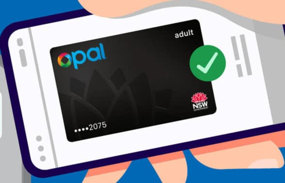 Transport for NSW Opal digital card
