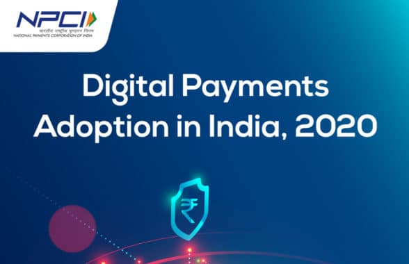 Digital payments adoption in India 2020 report cover