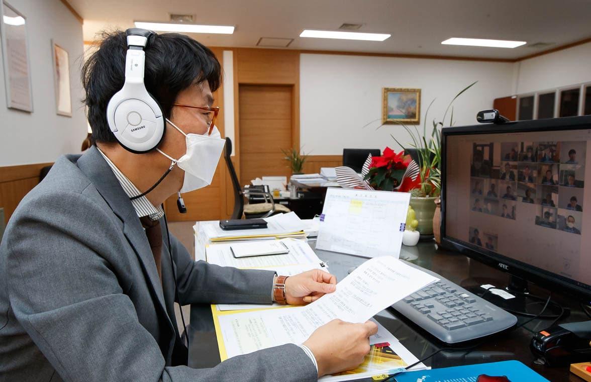 Vice Chairman of South Korea FSC Doh yu-sang