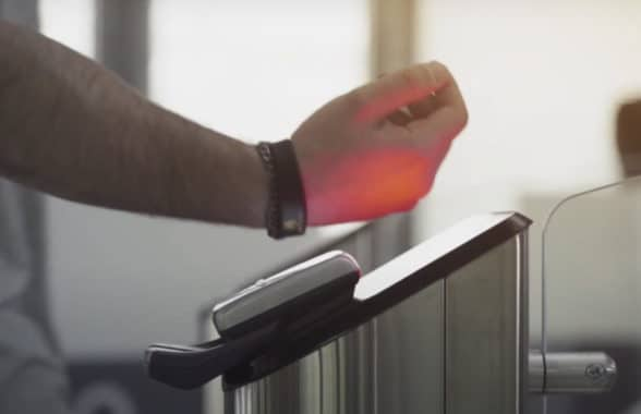 Wearable using Mastercard enhanced contactless specification