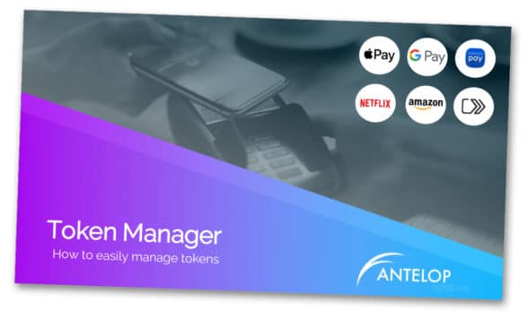 Antelop token management solution webinar presentation cover