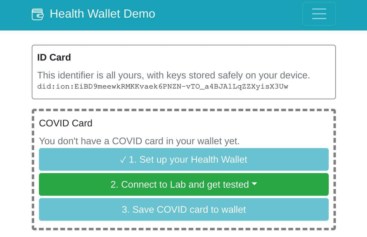 Vaccine credentials coalition digital smart health cards spec for Covid-19 passport