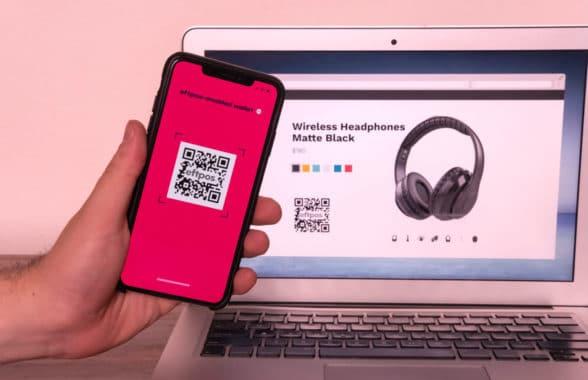 Eftpos Australia QR payments and rewards on smartphone