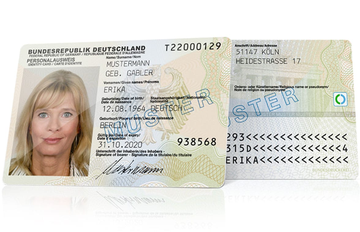 German digital ID card