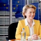 EU's European Commission president Ursula von der Leyen