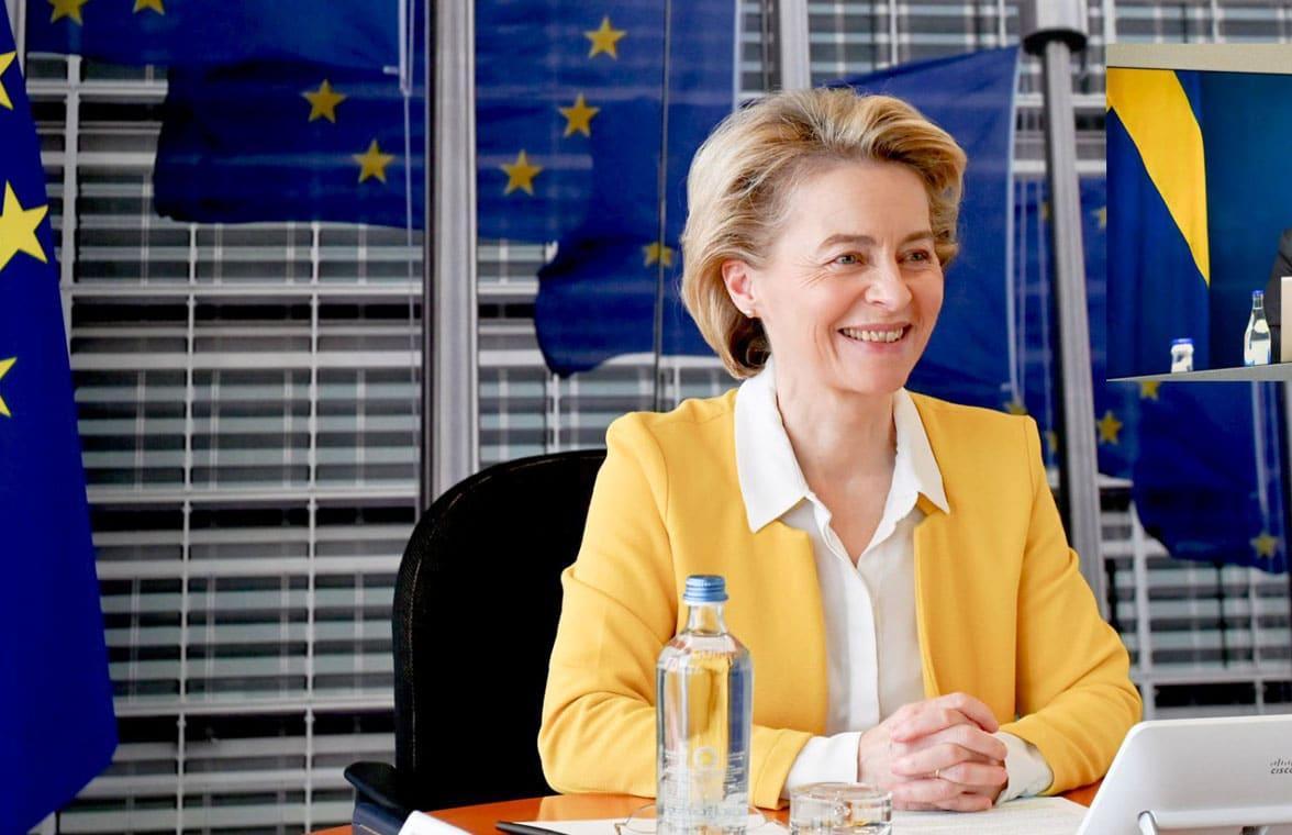 EU's European Commission president announces digital vaccination certificate proposals