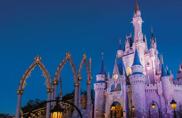 Disney Magic Kingdom theme park