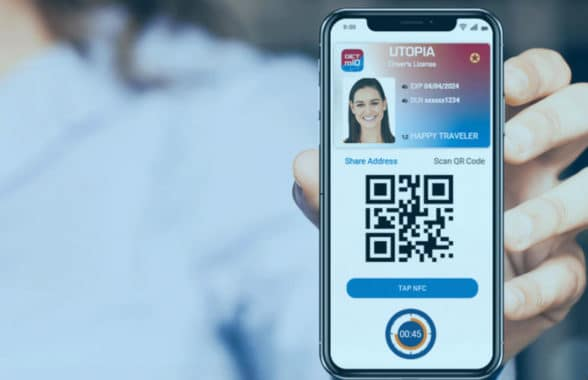 Utah NFC and QR mobile driving licence