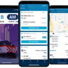 CTA Ventra card on smartphone for Chicago travel