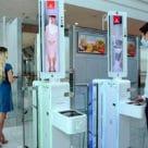 Emirates biometric contactless corridor at airport