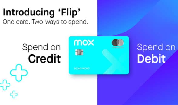 Mox virtual bank l'all-in-one' numberless debit and credit card