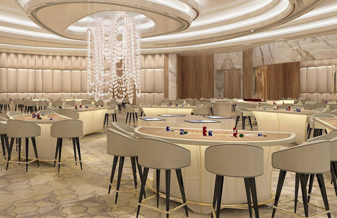 Resorts World Las Vegas gaming tables