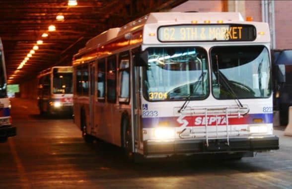 SEPTA Philadelphia bus