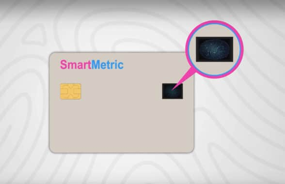 SmartMetric biometric credit card screenshot