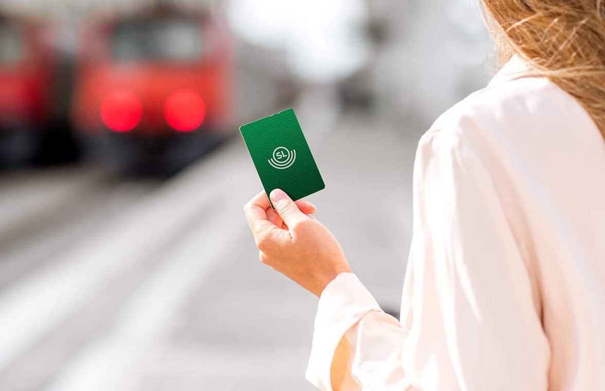 Stockholm's sl card for closed loop ticketing
