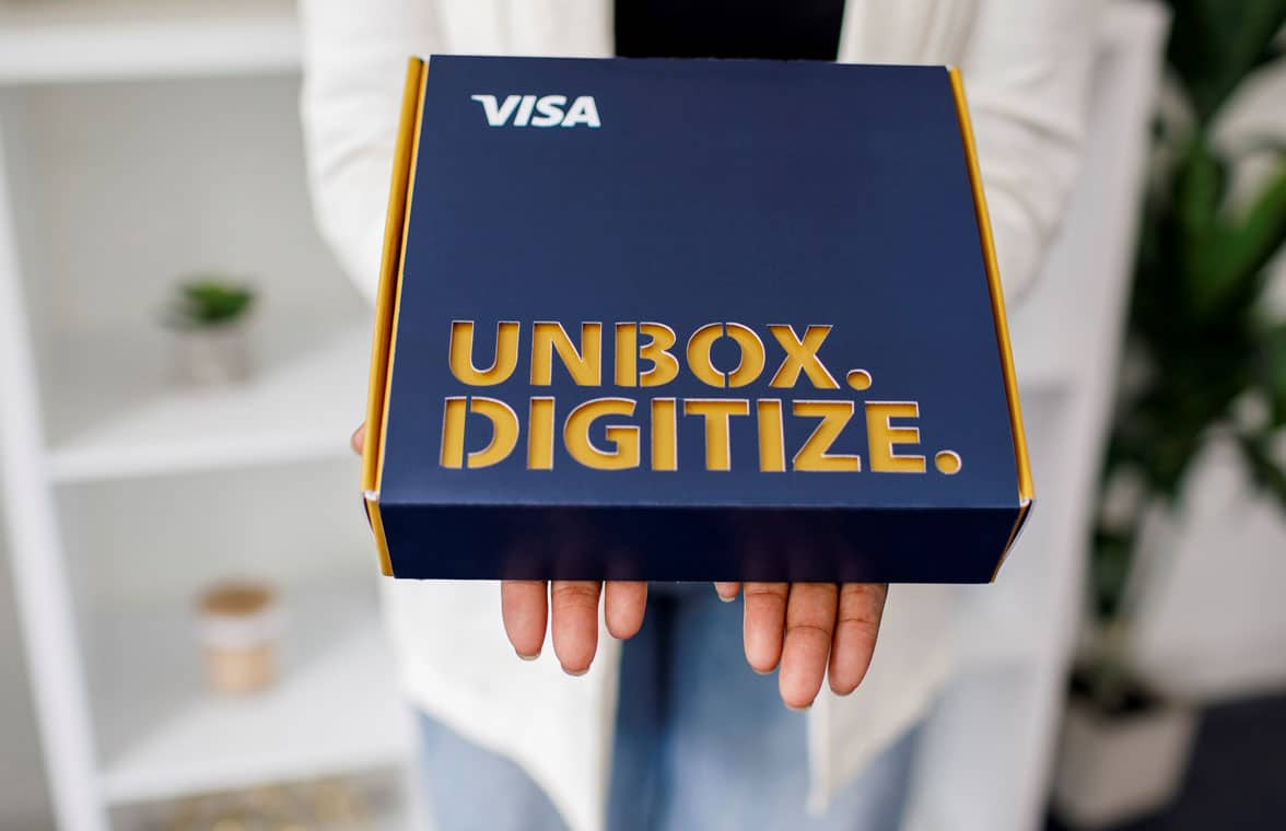 Visa commerce in a box for contactless payments