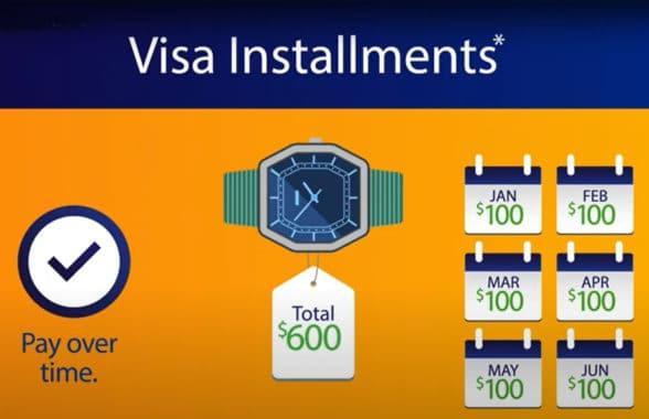Visa Installments screenshot