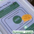 Ekko drop box for reusable NFC food container