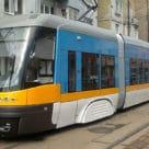 Tram in Sofia Bulgaria