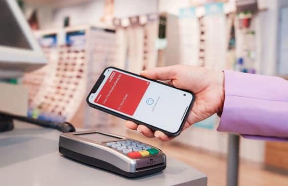 Medibank Australia health insurance digital claims card on Apple iPhone