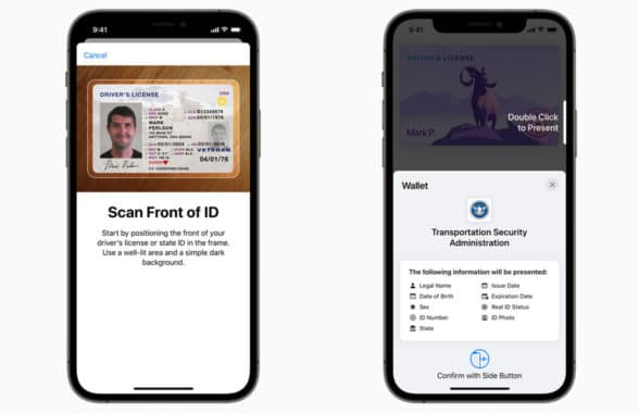 Apple Wallet with US digital driving licence signup