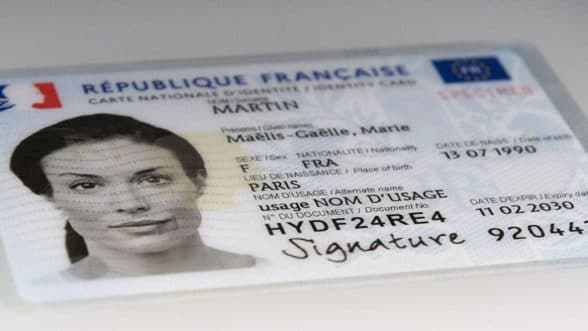 France's CNIE electronic ID card