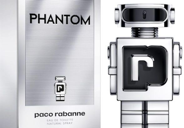 Paco Rabanne Phantom luxury brand using STMicroelectronics NFC tags