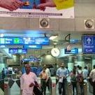Delhi Metro Sikanderpur Station access gates